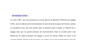 Introduction au langage uml