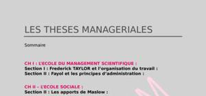 Les theses manageriales