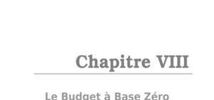 Le budget à base zéro (bbz)