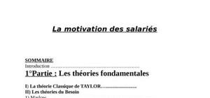 Presentation sur la mativation