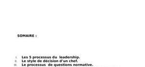 Les différents styles de leadership