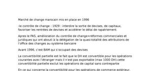 Résumé de finance internationale maroc