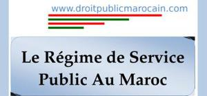 Service public au maroc
