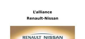 L'alliance renault nissan