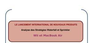 Apple : le lancement international de nouveaux produits