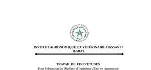 filieres primeurs et agrumes dans la region du souss massa :  valorisation de l'eau et competitivite