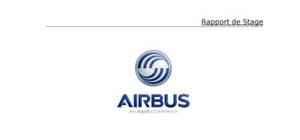 Rapport de stage airbus