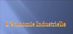 L'économie industrielle