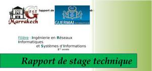 Rapport de stage technique