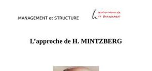 L'approche de h. mintzberg