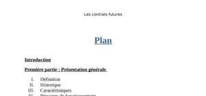 Les contrats futures