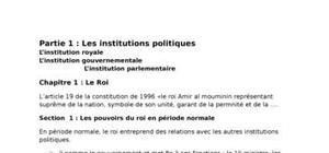 Institution politique