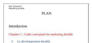 Marketing durable final
