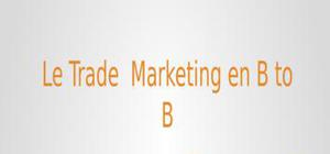 Le trade marketing