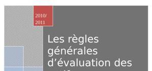 Les régles d'évaluation d'actif