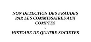 Detection de la fraude