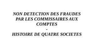 Detection de la fraude