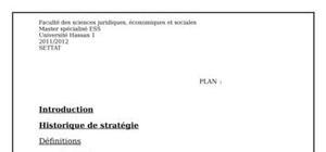 La planification stratégique des associations