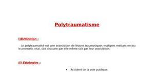 le polytraumatisé