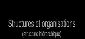 Structures et organisations