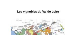 Les vignobles du val de loire