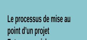 Le processus de mise au point d'un projet entrepreneurial