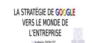 La stratégie de google