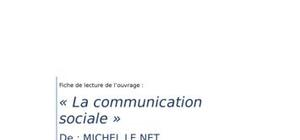 La communication sociale