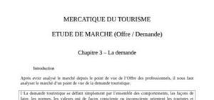 Mercatique du tourisme