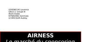 Le marché du sponsoring sportif : airness