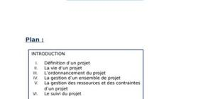 Management des projets