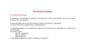 Marketing-strategique