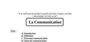 Exposé  sur la communication