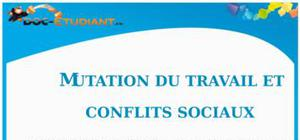 Mutation du travail et Conflits sociaux : Cours Terminale ES