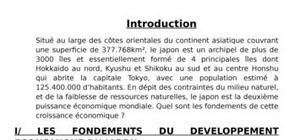 Exposé sur  le japon