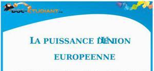 La puissance de l'Union Européenne : Cours Terminale ES