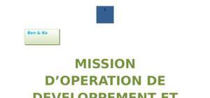 Mission d'Opération de developpement et de structuration du commerce de l'artisanat et des SRE
