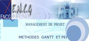 Management de projet - mÉthodes  gantt  et pert
