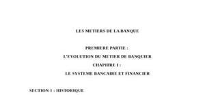L'évolution du métier de banquier