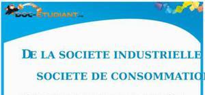 Société industrielle et société de consommation : Cours Terminale ES