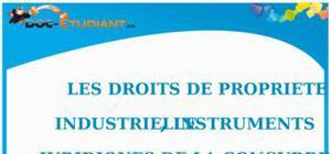 Le Droit de la Propriété Industrielle : Cours Droit Terminale STG