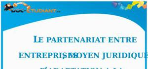 Le Partenariat entre Entreprises : Cours Droit Terminale STG