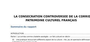 La consécration controversée de la corrida au patrimoine culturel français