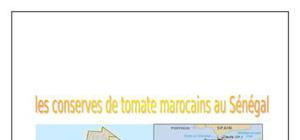 Conserves de tomates marocains au sénegal