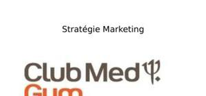 Club med gym (recommandations marketing)