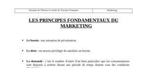 Le cours complet du marketing