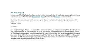 Le mix-marketing(4p)