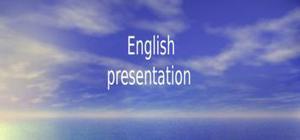 Tsunami expose en anglais