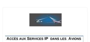 Accès aux services ip  dans les  avions