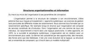 Le management et système d'information